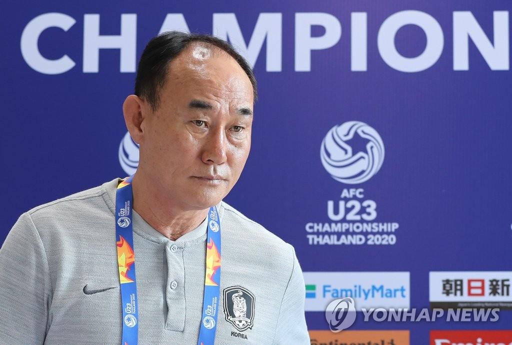 김학범 남자축구 올림픽대표팀 감독