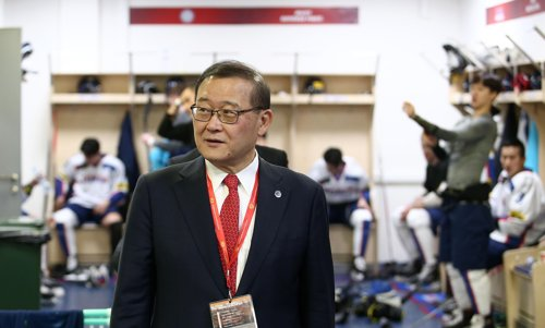 S. Korean ice hockey chief to be enshrined in Hall of Fame