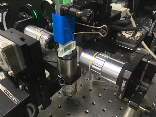 Ultrasonic optical microscope developed