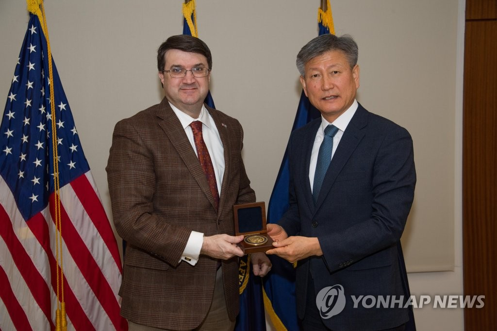 S. Korean, U.S. vets affairs ministers