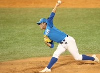 (LEAD) High school left-hander picked 1st overall in KBO draft