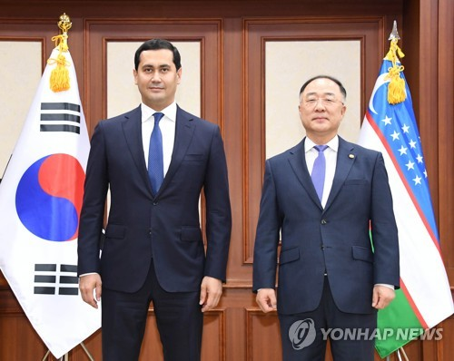 S. Korea to step up efforts to help Uzbekistan win admission to WTO