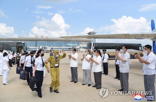 N. Korea's war veterans return home