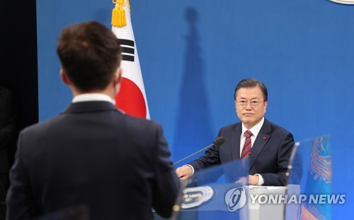 Moon: Now not yet time to discuss pardons for two ex-presidents