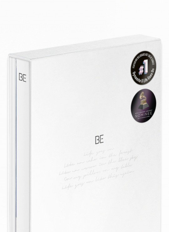 "This photo, provided by Big Hit Entertainment, shows the ""Essential Edition,"" a new version of the BTS album ""BE."" (PHOTO NOT FOR SALE) (Yonhap)"